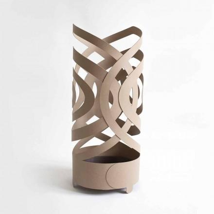 Paragüero de diseño moderno en hierro coloreado hecho en Italia - Olfeo
