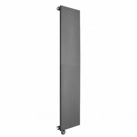 Radiador eléctrico vertical Minimal Design en acero coloreado 700 W - Ice