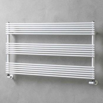 Calentador de toallas de radiador horizontal en diseño de acero 750 W - Nibbio