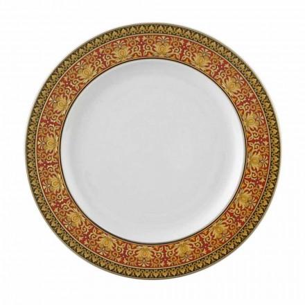 Rosenthal Versace Medusa Plate Red 22 cm porcelana