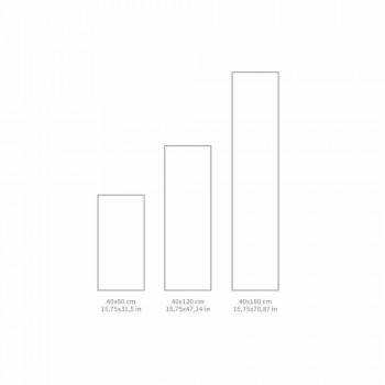 Camino de mesa de diseño moderno en patrón de PVC y poliéster - Belita