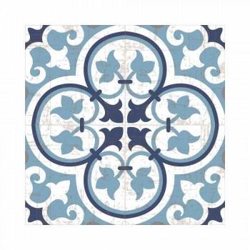 Camino de mesa en PVC y poliéster en diseño negro, azul o gris - Lindia