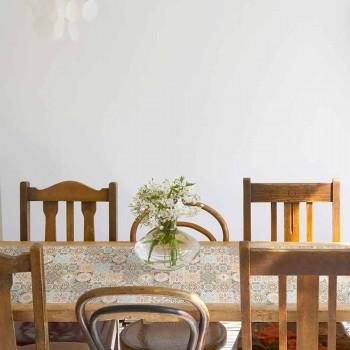Camino de mesa en PVC y poliéster con un diseño elegante - Frisca