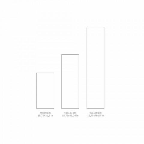 Camino de mesa moderno estampado en PVC y poliéster - Leno