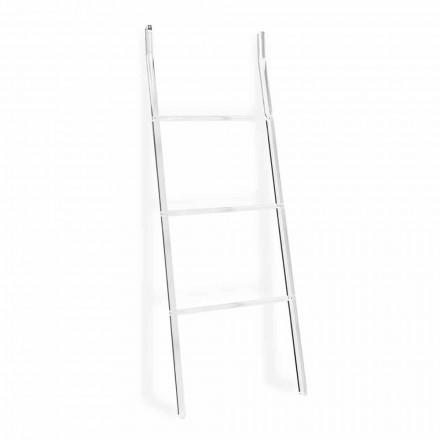 Escalera Toallero en Diseño de Plexiglás Transparente 2 Alturas - Secadoras