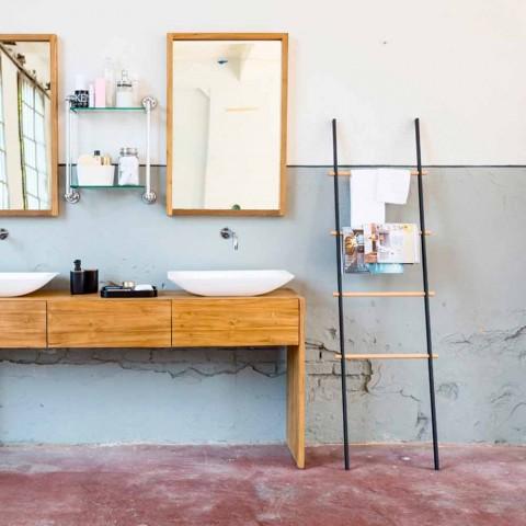 Revista de diseño / escalera para baño de Denno.
