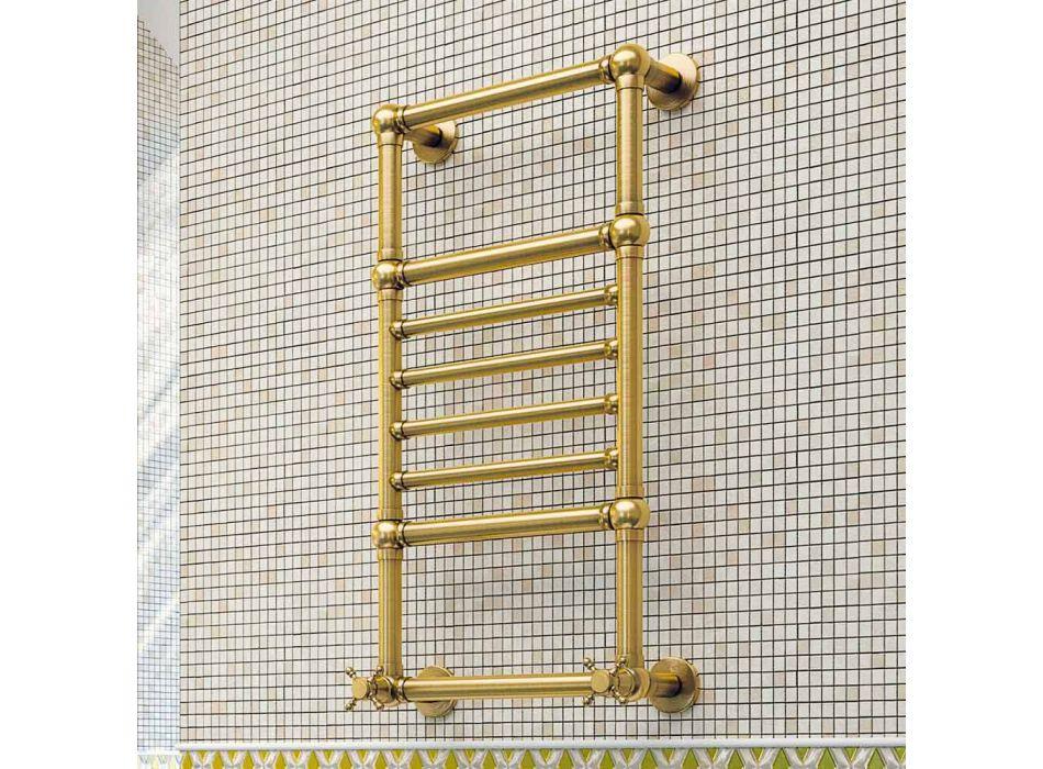 Toallero latón dorado Scirocco H Amira hidráulico hecho en Italia