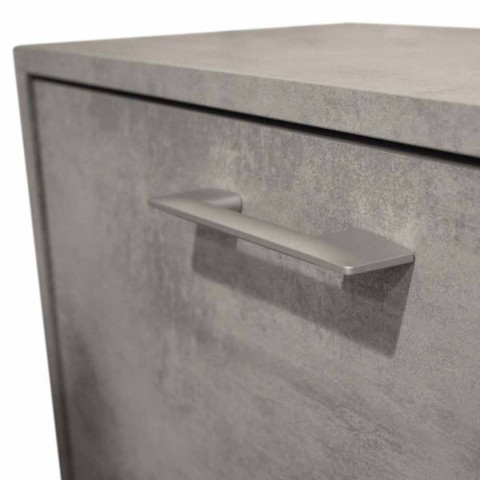 Sitover doble fila de reflectores de melamina Cleaf cemento Senis