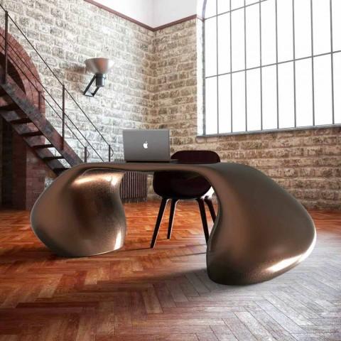 Escritorio de oficina de diseño moderno hecho en Italia, Telese