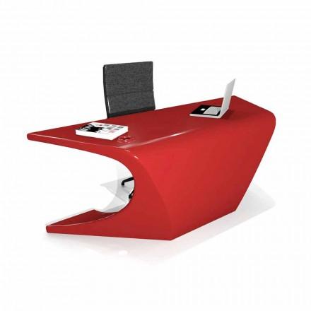 Escritorio de oficina moderno producido en Italia, Cerami