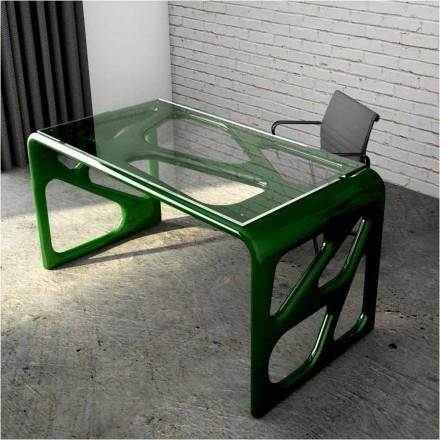 Escritorio de diseño de Solid Surface® fabricado en Italia Illa