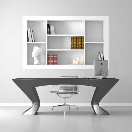 Escritorio oficina diseño moderno hecho en Italia Nefertiti