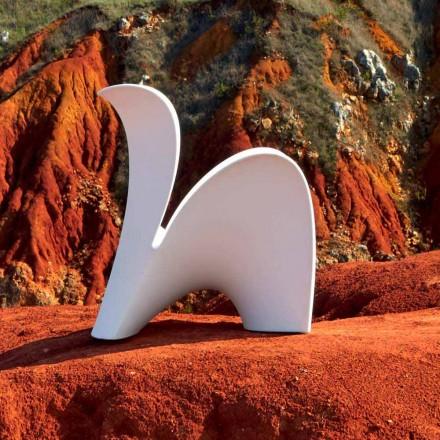Silla de diseño para interior o exterior en plástico de colores 2 piezas - Lily by Myyour