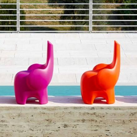 Silla elefante de diseño moderno para niños, 4 piezas de colores - Tino by Myyour