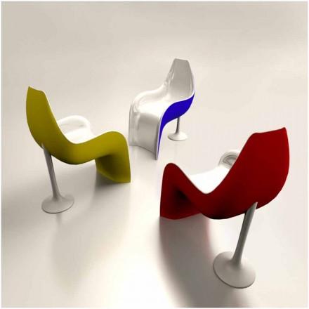 Silla/Sillón de diseño de Solid Surface® hecha en Italia Helled