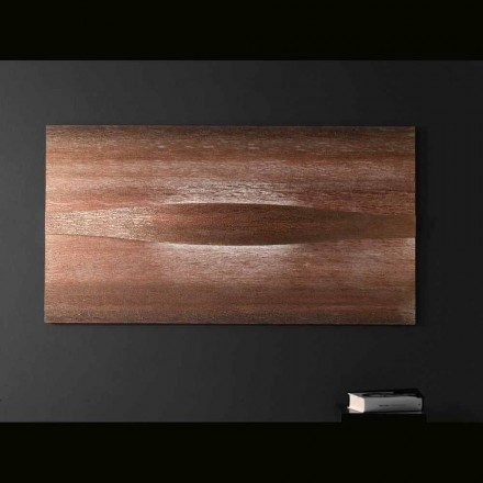 Selene Arte & Light aplique con paneles texturizados 140xH75 cm