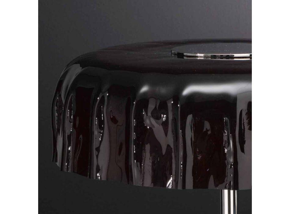 Cap Grande Selene vidrio lámpara de mesa de Ø40 H 40cm hecha en Italia