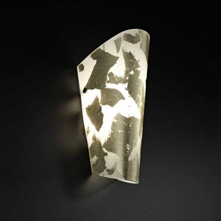 Selene Bloom hechos a mano de cristal apliques en Italia 12x11 H28cm