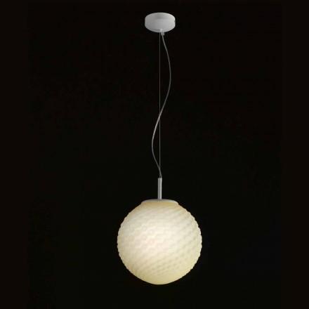 Selene Domino araña de vidrio soplado hecho a mano O27 H 27 / 140cm