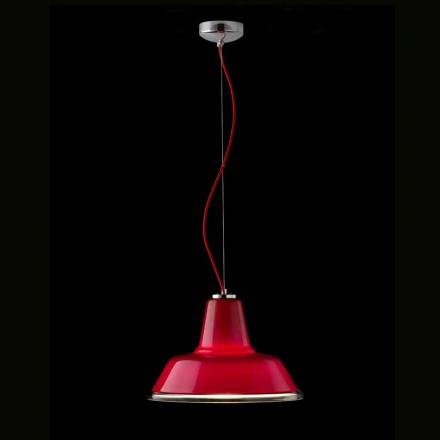 lámpara de suspensión Selene Lampara soplado Ø37 H 24/140 vidrio cm