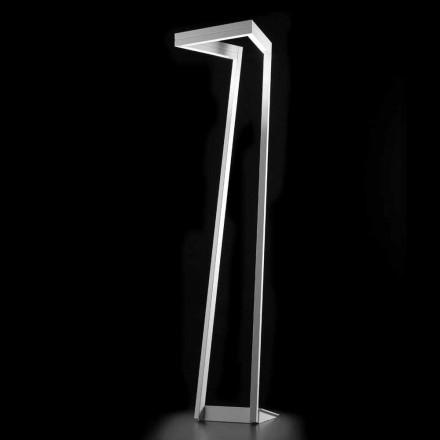 Selene mi manera LED blanco lámpara de pie H180cm 40x40, fabricado en Italia