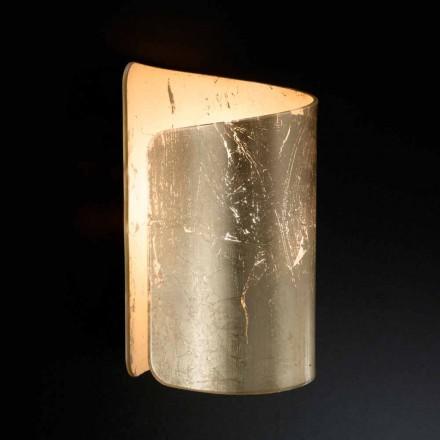 Selene Papiro de cristal apliques de diseño moderno fabricado en Italia