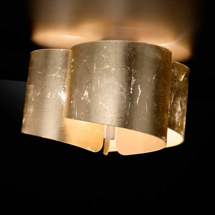 Selene Papiro cristal de la lámpara de techo fabricado en Italia Ø46 H28cm