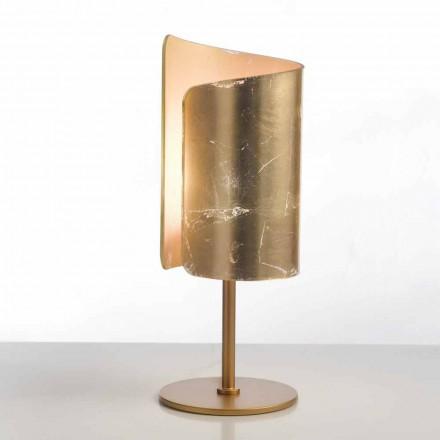 Selene Papiro cristal de la lámpara de mesa de diseño Ø15 H38cm