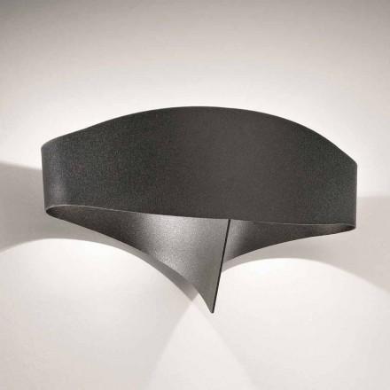 Selene Escudo applique moderno diseño de acero pintado