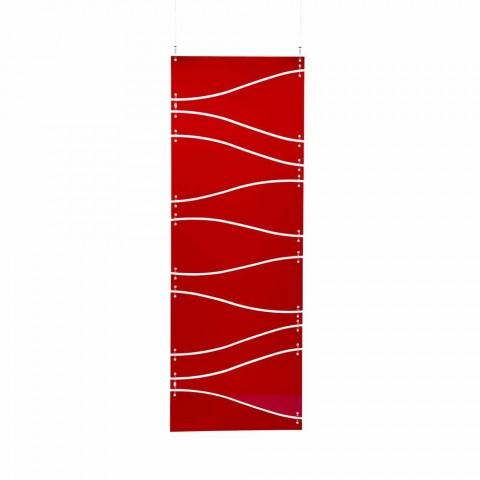 Cabina de suspensión metacrilato, rojo o satén Blake