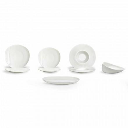 Juego de platos modernos de porcelana, 26 piezas - Nalah