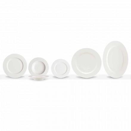 Elegante y moderno juego de platos de porcelana 20 piezas - Arendelle