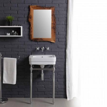 Set de baño con lavabo y espejo de la estructura de la creatividad delfín