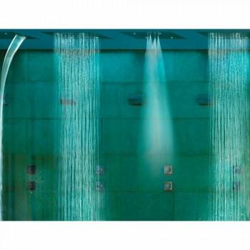 Cabezal de ducha de dos chorros con terapia de color Dream
