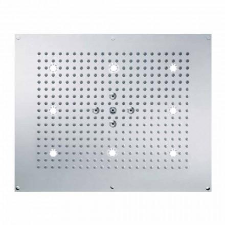 Bossini Rociador ducha techo con LED y 2 chorros Dream Neb