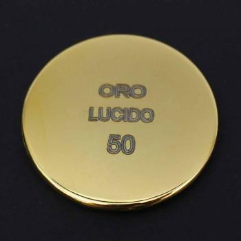 Cabezal de ducha de techo de chorro simple de acero inoxidable Made in Italy - Cauro