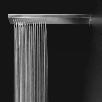 Cabezal de ducha de acero con chorro de lluvia Made in Italy - Nairobi
