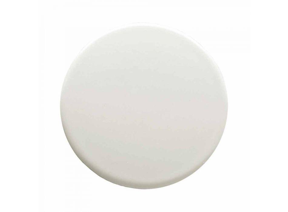 Cabezal de ducha de acero inoxidable con cromoterapia Made in Italy - Solver