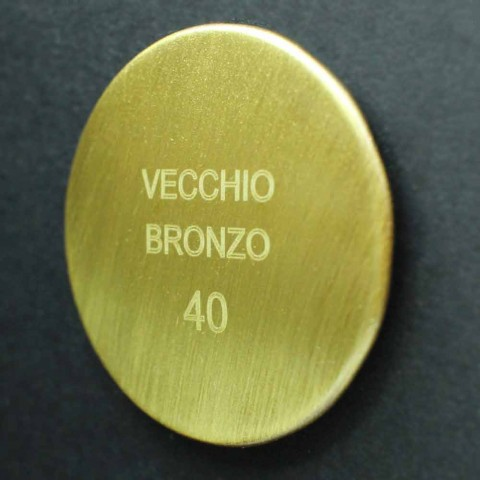 Cabezal de ducha de chorro simple de latón Diseño clásico Made in Italy - Tenco