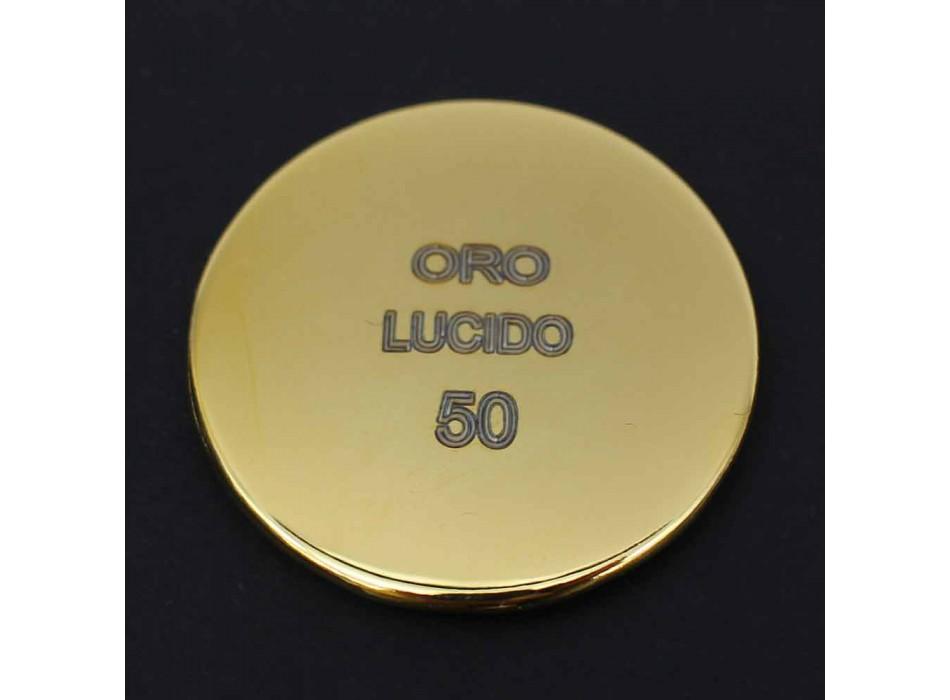 Cabezal de ducha cuadrado de acero inoxidable de alta calidad Made in Italy - Nello