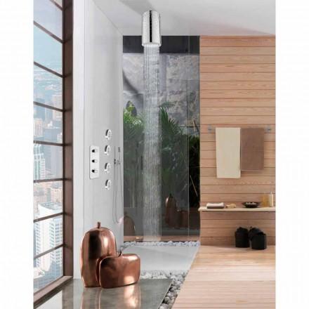 Bossini Rociador de ducha original de diseño con Swarovski
