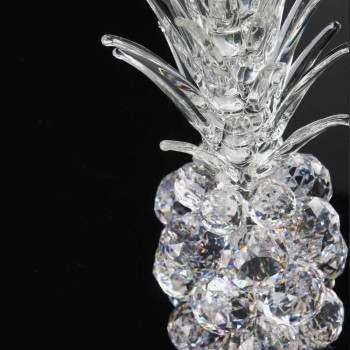 Adorno decorativo de cristal en forma de piña Made in Italy - Piña