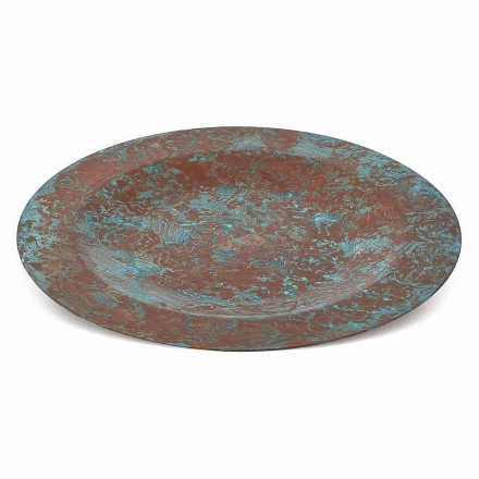 Mantel Individual Cobre Verde o Marrón Estañado a Mano 31 cm 6 Piezas - Rocho