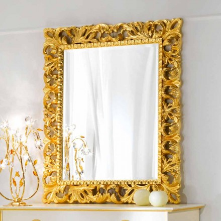 espejo de pared de diseño clásico Ives, 100x120 cm