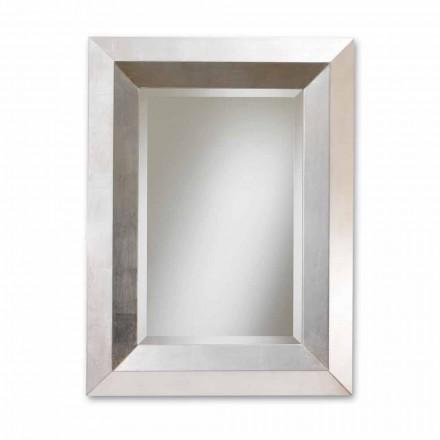 de pared de diseño espejo con marco de madera Lote