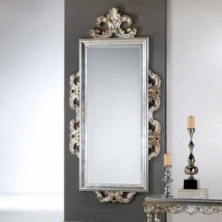 Espejo de pared de diseño de Guy, 118x240 cm, fabricado en Italia