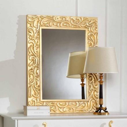 Espejo como suelo Pepa 75x100 cm diseñador, fabricado en Italia
