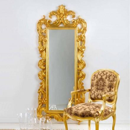 piso de espejo / pared de diseño clásico, pan de oro acabado Guerin
