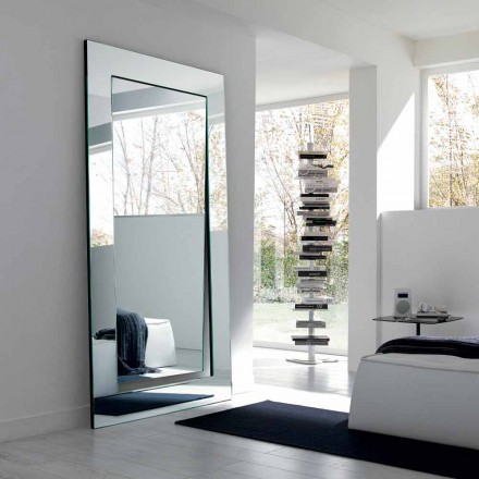 Espejo de Pie Rectangular de Diseño Moderno Hecho en Italia - Salamina