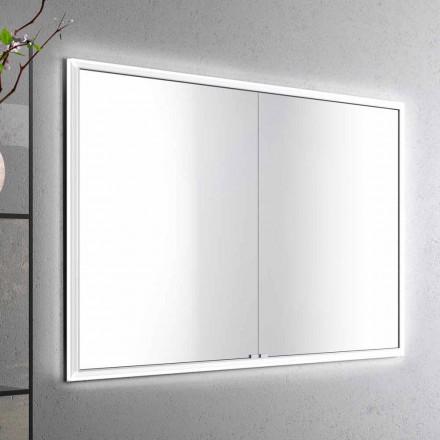 Espejo paquete de LED con un diseño moderno 2 puertas incorporado, Adele